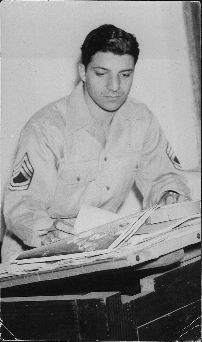 Dad during WWII