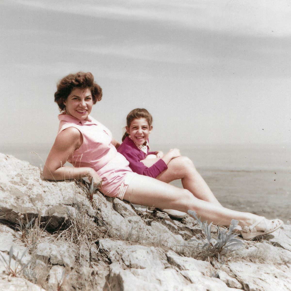 Anita and Ernie, circa 1956